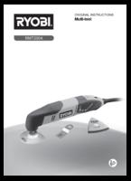 Ryobi rmt2004x20 manual 1