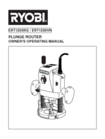 Ryobi ert1250rg manual 1