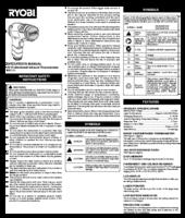 Ryobi rit310 manual 1