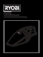 Ryobi chv182g manual 1