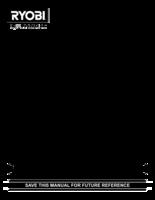 Ryobi aed04g manual 1