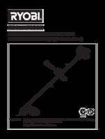 Ryobi rbc254fsbsn manual 1