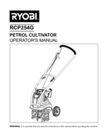 Ryobi rcp254g manual 1