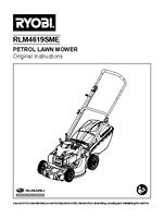 Ryobi rlm4619sme manual 1