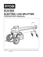 Ryobi els52g manual 1