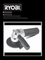 Ryobi rag100 manual 1