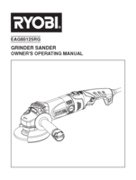 Ryobi eag85125rg manual 1