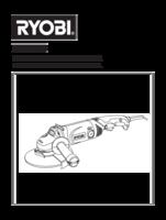 Ryobi eag1518rg manual 1
