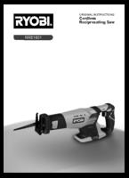 Ryobi rrs1801 manual 1