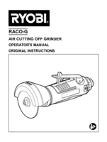 Ryobi raco g manual 1