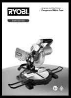 Ryobi ems1221rg manual 1
