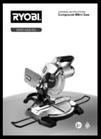 Ryobi ems1422lrg manual 1