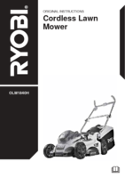 Ryobi olm1840h manual 1