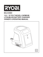 Ryobi r18dd ll13p manual 3
