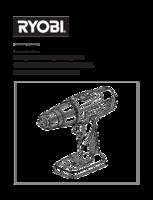 Ryobi r18dd ll13p manual 1