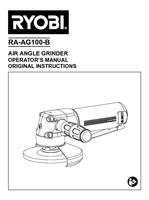 Ra ag100 b   angle grinder   operator s manual