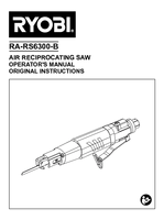 Ra rs6300 b   reciprocating saw   operator's manual