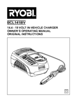 Ryobi bcl1418iv manual 1