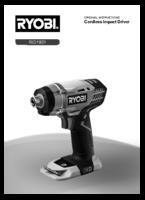 Ryobi r18id ll99s manual 1