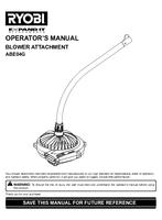 Ryobi abe04g manual 1