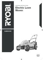 Ryobi rlm16e36s manual