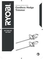 Ryobi   rht1840li20  manual