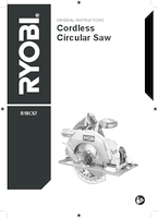Ryobi r18cs7 0 user manual