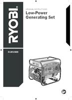 Ryobi rgn1200b user manual