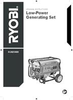 Ryobi rgn2500b user manual