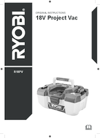 Ryobi r18pv 0 user manual