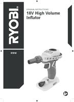 Ryobi    r18vi 0  user manual