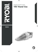 Ryobi r18hv user manual