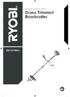 Ryobi rbc52fsbho user manual