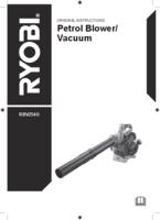 Ryobi rbv254o user manual
