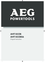 Aeg aht1852b user manual