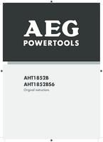 Aeg aht1852b user manual