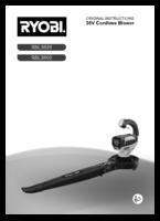 Ryobi rbl3626 manual 1