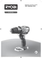 Ryobi r18pdbl 0 user manual