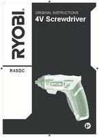 Ryobi r4sdc l13c user manual