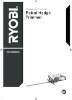 Ryobi rht25460ro user manual