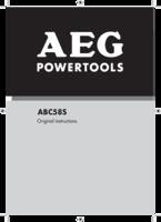 Aeg abc58s manual 1