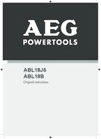 Aeg abl18b manual 1