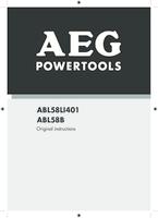 Aeg abl58li401 manual 1