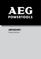 Aeg abp58li 401 manual 1