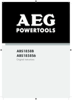 Aeg abs1858b manual 1