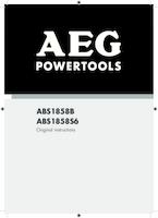 Aeg abs1858b manual 1