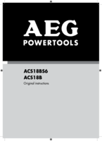 Aeg acs18b manual 1