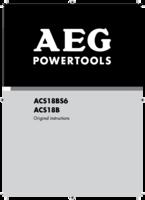 Aeg acs18b manual 1