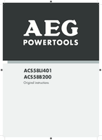 Aeg acs58b200 manual 1