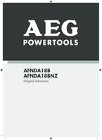 Aeg afnda18b 0 manual 1